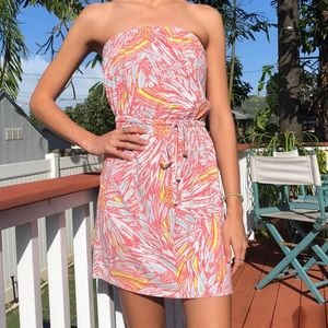 Mossimo tropical dress or cover-up